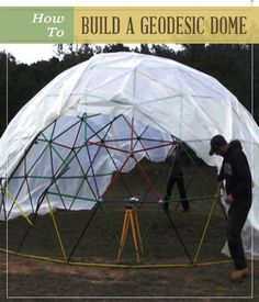 How To Build A Geodesic Dome | Defense and Protection | Personal Protection for the Home and Family at pioneersettler.com