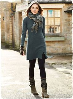 Leggings outfit winter, tunic leggings, tunic sweater, winter dress outfits, dresses with Legging Outfits, Leggings Outfit Winter, Sweater Dress Outfit, Winter Dress Outfits, Fall Winter Outfits, Sweater Outfits, Leggings Fashion, Dress Winter, Tunic Sweater