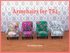 Armchairs at Nathalia Sims • Sims 4 Updates