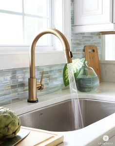 Delta Kitchen Faucets Bronze delta 9959-cz-dst trinsic single handle pull down bar/prep faucet