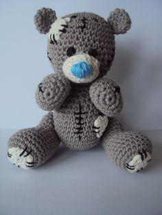 tatty bear, ook wel me to you beertje genoemd gemaakt Free Patterns by H: Tatty Teddy Crochet Pattern ✿⊱╮Teresa Restegui www.pinterest.com