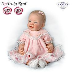 African American Lifelike Baby Doll With Musical Blanket
