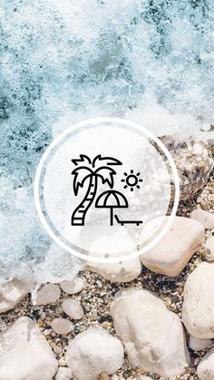 Pin on Story Highlights Instagram Blog, Instagram Beach, Instagram Design, Instagram Story Ideas, Instagram Accounts, Beach Highlights, Story Highlights, Beach Icon, Instagram Promotion