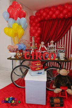 - Victoria Decoração Infantil -: Circo Vintage - Henrique