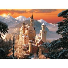 Great Pictures, Beautiful Pictures, Diamond Drawing, Fantasy Castle, Fantasy Life, Germany Castles, Neuschwanstein Castle, Famous Castles, Before Midnight