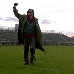 Judd Nelson thrusting his fist in the air cuz he got the girl. :)