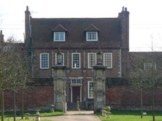 Byfleet Manor in Byfleet, Surrey, England is the location for the Dower House, home to Violet, Dowager Countess of Grantham. Byfleet Manor originally a royal hunting lodge given by Edward II to Piers Gaveston, his reputed lover. It was rebuilt in 1619 by Anne of Denmark, wife of King James I, the house's last royal owner. However, she died before it was finished. The front walls & gate piers, which can still be seen today, date from that time. © Copyright Colin Smith