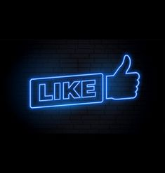 Like Vector Images (over - Page 6 Custom Neon Signs, Led Neon Signs, Thumbs Up Icon, Cute Text Messages, Baby Blue Aesthetic, Neon Style, Fish Icon, 4k Wallpaper For Mobile, Map Icons