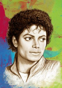 Art All Featured Images - Michael Jackson stylised pop art drawing sketch poster by Kim Wang Michael Jackson Dibujo, Michael Jackson Meme, Michael Jackson Drawings, Mike Jackson, Pop Art Drawing, Art Drawings Sketches, Drawing Ideas, Michelangelo, Bob Marley Painting