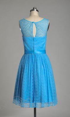 blue lace bridesmaid dresses - Google Search