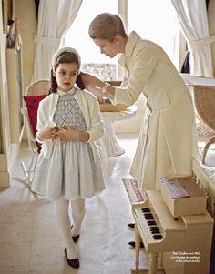 Принцессы Грейс и принцесса Каролина, 1962 Фото Howell Конант