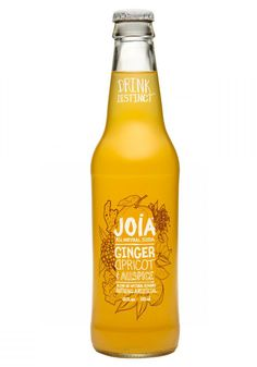 Joia All Natural Soda packaging design by DesignReplace