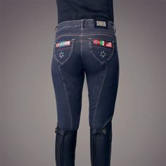 Horze Active women's Knee-Patch Breeches | Horse Tack & Riding Apparel
