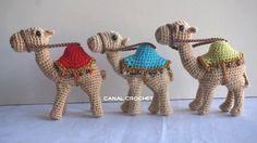 Описание и схема вязаного крючком верблюда, а также видео процесса вязания игрушки амигуруми.
