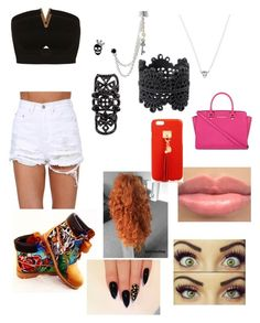 """Jump"" by diane-ds ❤ liked on Polyvore featuring beauty, Miss Selfridge, Timberland, Merida, MICHAEL Michael Kors, Karen Walker, Betsey Johnson, Luxury Fashion, Monki and Henri Bendel"