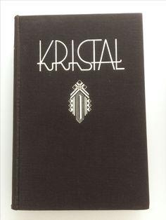 Kristal Letterkundig jaarboek 1937 Illustraties en bandontwerp A.J. Van 'T Hoff