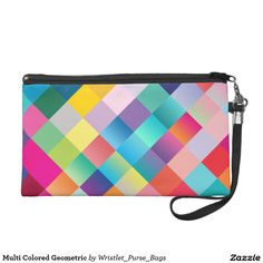 Multi Colored Geometric Wristlets