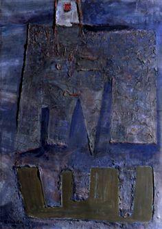 Aleksander Kobzdej Thing 1, Art Blog, Polish, Contemporary, Abstract, Painting, Radiation Exposure, Shop Signs, Summary