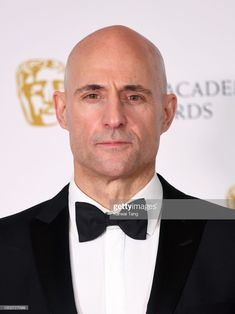 News Photo : Mark Strong poses in the Winners Room during the...