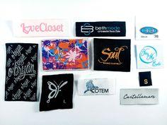 Etiquetas Bordadas. Crea diseños únicos y dale vida a tu prenda. #Etiquetas #bordado #color #diseño #moda #jeans #datesa