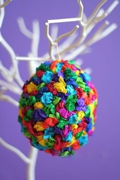 Preschool Crafts for Kids*: Tissue Paper Easter Egg Craft Spring Crafts For Kids, Crafts For Teens, Easter Crafts For Kids, Preschool Crafts, Diy Ostern, Coloring Easter Eggs, Easter Colors, Egg Decorating, Christmas Crafts