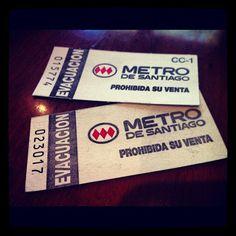 #metro #evacuación #santiago #chile
