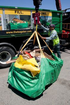 59 Best The Bagster Bag In Action Images Dumpster