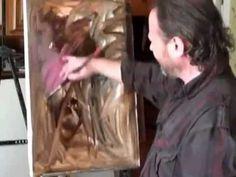 Como pintar un Retrato con la foto ..Igor Sájarov.Clases de pintura. - YouTube