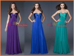 blue+and+purple+bridesmaid+dresses | Details about Gorgeous 3 Purple/Blue/Gr een Bridesmaid ball gown dress