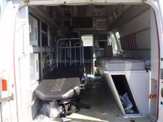 1991 FORD ECONOLINE E350 SUPER DIESEL AMBULANCE (Type II) - interior