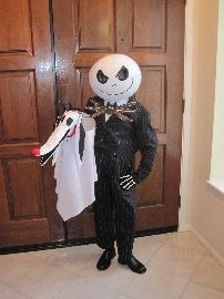 jack skellington photo for halloween ideas - Halloween Jack Costume