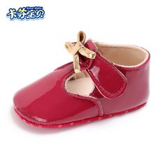 Baby Shoes First Walkers Efficient Girls Pre Walking Shoes Bowknot Dot Toddler Shoes Baby Flats 0-18m