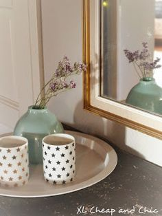 XL Cheap & Chic: Veden sävyjä - Shades of water. Shades, Chic, Water, Home Decor, Shabby Chic, Gripe Water, Elegant, Decoration Home, Room Decor
