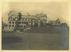 Bennett College (New York) - Front view of Halcyon Hall, c. 1908