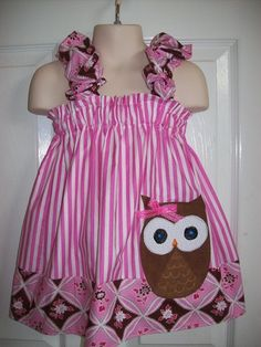 1st Birthday Outfit - Owl Theme