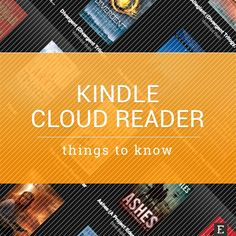 In this post you'll find advantages, flaws, and facts about Kindle Cloud Reader - the way to access Kindle books via the web browser.
