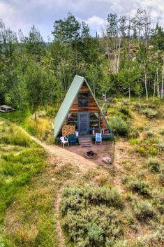 Rustic Cabin with Spectacular Alpine Views in Walden, Colorado