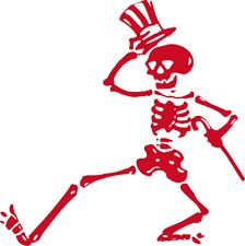 #skeleton #red #clipart #cartoon #dance #bones