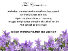 Funeral Quotes, William Wordsworth, Encouragement, Memories, Thoughts, Reading, Memoirs, Souvenirs, Reading Books