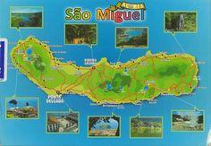 Postcard from Portugal ~ Ilha de Sao Miguel (Saint Michael's Island) www.postcrossing.com