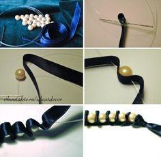 Lindas bijuterias com pérolas - Passo a passo - Arteblog