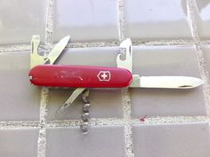 Victorinox Camper Swiss Army Knife, Vintage Swiss army knife, gift for him by Morethebuckles on Etsy
