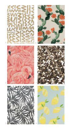Twelve incredible wallpaper patterns
