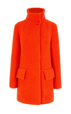 Karen Millen Bright Boucle Coat | Clothing