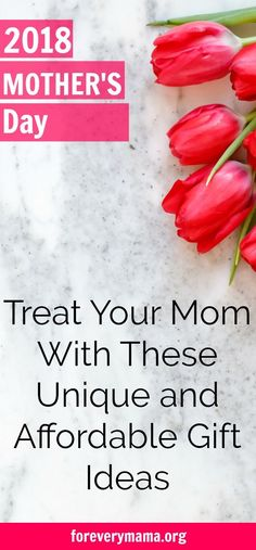 Mother's Day 2018 Gift ideas. Find the perfect Mother's Day gift. Unique gift ideas. Affordable gift ideas. The best Mother's Day gift ideas. Your Mother's Day gift guide. The gifts your mom is sure to love. #mothersday #mothersdaygift #gift #giftidea #affiliate