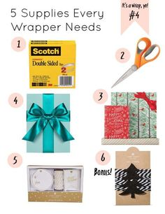 5 Supplies Every Wrapper Needs by Gold Standard Workshop