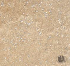 Tuscany Chocolate Honed And Filled Travertine Tile. Types Of Flooring, Flooring Options, Stone Flooring, Stone Slab, Stone Tiles, Quartz Kitchen Countertops, Granite, Travertine Tile, Tuscan Decorating