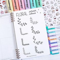 Bullet Journal Doodles: 20 Amazing Doodle Ideas For Beginners & Beyond! - Meraadi These bullet journal doodles and doodle tips and ideas are exactly what you need to learn how to doodle. Perfect for beginners and more advanced doodlers! Bullet Journal School, Bullet Journal Inspo, Bullet Journal Headers, Bullet Journal Banner, Bullet Journal 2019, Bullet Journal Notebook, Bullet Journal Aesthetic, Bullet Journal Ideas Pages, Bullet Journal Frames