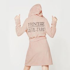 Peignoir pyjama tout doux à Capuche !!