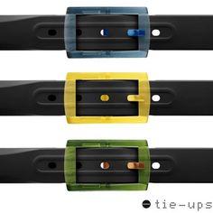 Collezione cinture Tie-Ups. Ampio catalogo, eleganti, classiche, sportive, moderne... Per tutti i gusti!